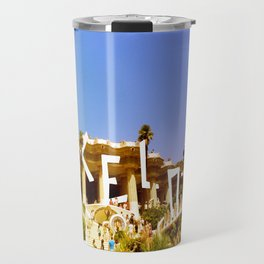 Barcelona city Travel Mug