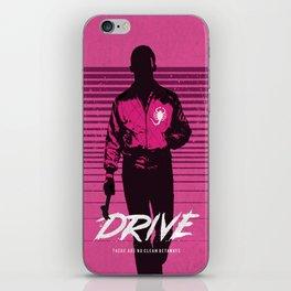 Drive art movie inspired iPhone Skin