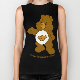 Casual Acquaintance Bear Biker Tank