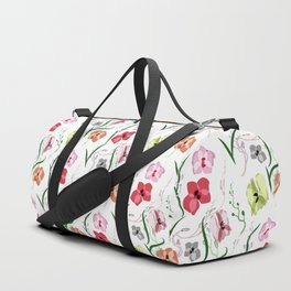 Orchid pattern 3 Duffle Bag