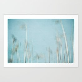 reed abstract 5 Art Print