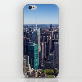 New York City at Empire State Building iPhone Skin