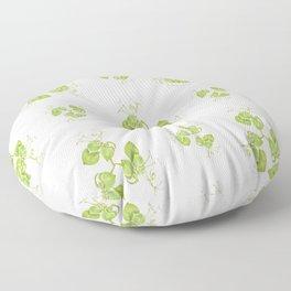 Photographic Floral Decorative Pattern Floor Pillow