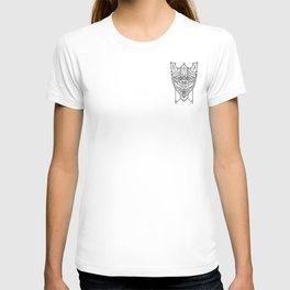 onyx piggy knight crest T-shirt