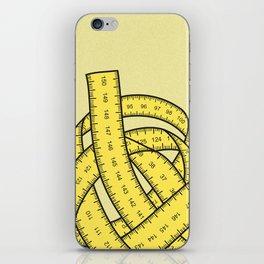 Yarn of measurements iPhone Skin