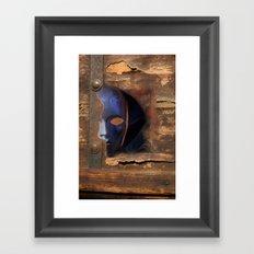 the mask /   Framed Art Print