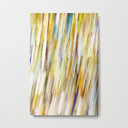 Bright Shower of Color Metal Print