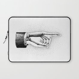 he went that-a way Laptop Sleeve