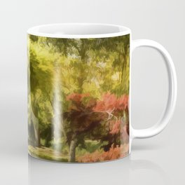 A Walk In The Woods Painting Coffee Mug