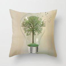 green ideas 02 Throw Pillow