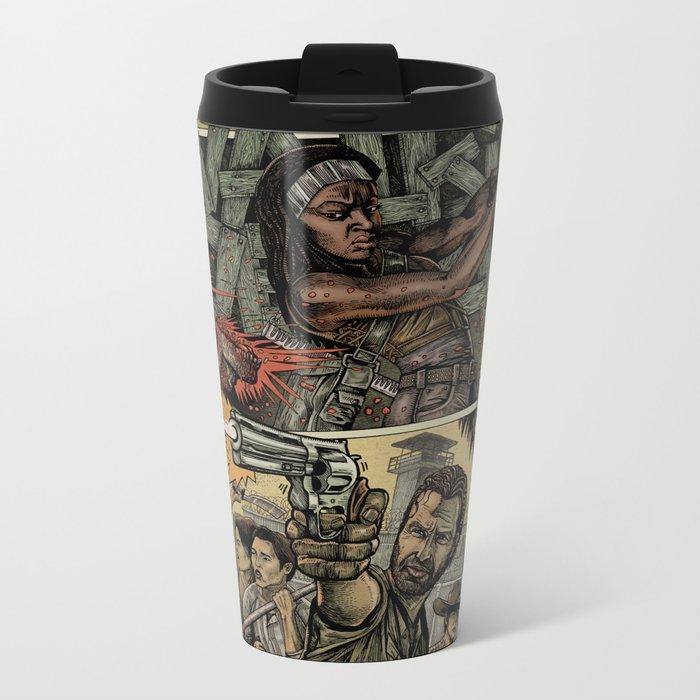 Walking Dead Metal Travel Mug