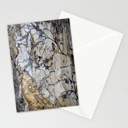 Natural Distressed Beach Drift Wood Textures Stationery Cards