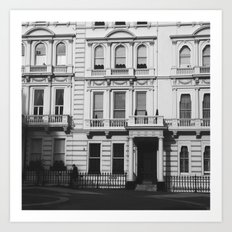 London architecture  Art Print