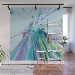 Speed of Light - Abstract Acrylic Art by Fluid Nature Wall Mural