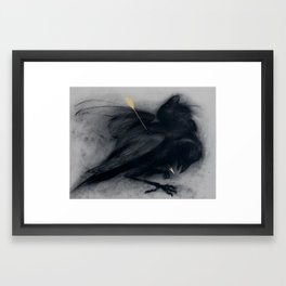 Death of insight Framed Art Print