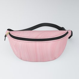 Modern pastel pink abstract marble Fanny Pack