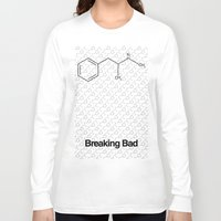 breaking Long Sleeve T-shirts featuring Breaking Bad by Karolis Butenas