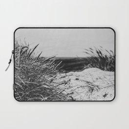 Sand Dune Landscape Denmark Haurvig bw Laptop Sleeve