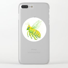 Honeybee Clear iPhone Case