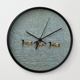 Follow The Leader Wall Clock