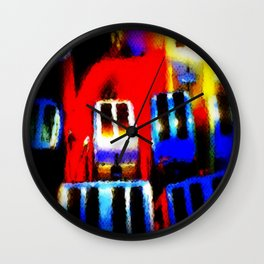 The Heat Is On Wall Clock
