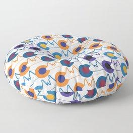 Colorado sports and mountains Floor Pillow