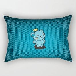 Blue Dead Bear Rectangular Pillow