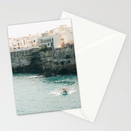 Summer in the riviera Stationery Cards