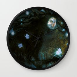 The Fairy Seller Wall Clock