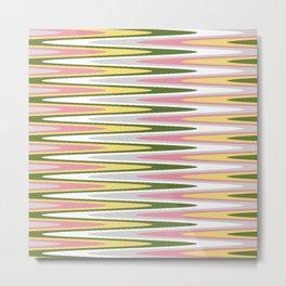 Waves of Color Metal Print