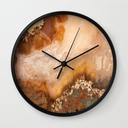 Idaho Gem Stone 5 Wall Clock