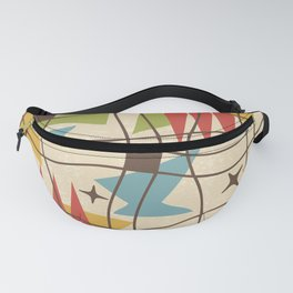 Mid Century Modern Abstract Pattern 571 Fanny Pack