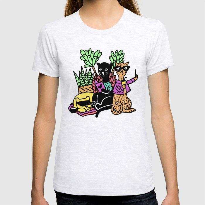OmniFocus 3 Cool Cats T-shirt
