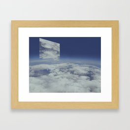 Mirrors relections Framed Art Print