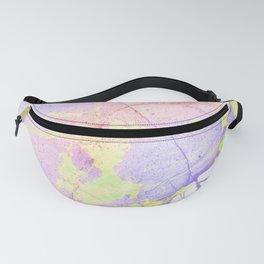 Irridescent Marble - Pink, Purple and neon green Fanny Pack