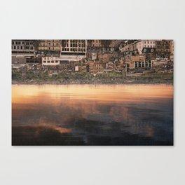 inverted views Canvas Print