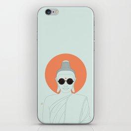 Buddha : Imagine Silence! iPhone Skin