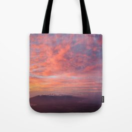 Haleakala Summit Sunset Tote Bag
