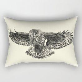 Owl Sketch Rectangular Pillow