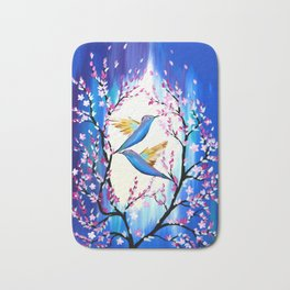 Cherry Blossom Saga Bath Mat