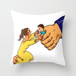 illegal immigrant child detention Throw Pillow