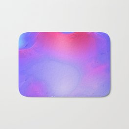 Purple and Pink Colorful Abstract Bath Mat