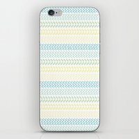 knit iPhone & iPod Skins featuring Knit 2 by K&C Design