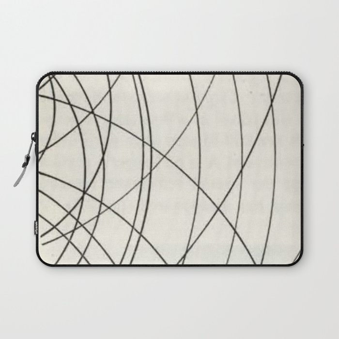 Irregular Waves Laptop Sleeve