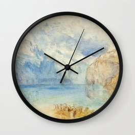"J.M.W. Turner ""The Lake of Lucerne from Fluelen"" Wall Clock"