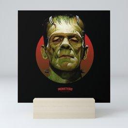 Frankenstein - Scary Movies Mini Art Print