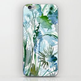 marelle: watercolor floral iPhone Skin