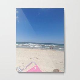 Beautiful Beach Day Metal Print