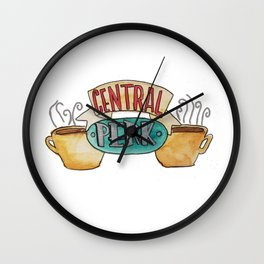 Central Perk from Friends TV Show Wall Clock
