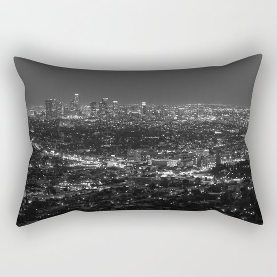 LA Lights No. 2 Rectangular Pillow